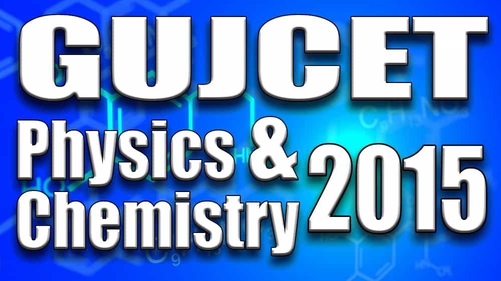 Gujcet 2015 paper with solution and answers in gujarati