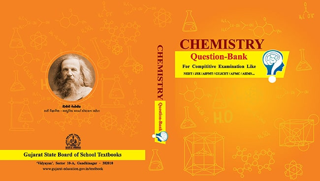 GSEB Chemistry Question Bank For Gujcet NEET & JEE in English Medium